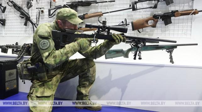 Новые образцы стрелкового оружия белорусского производства презентовали на MILEX 2019