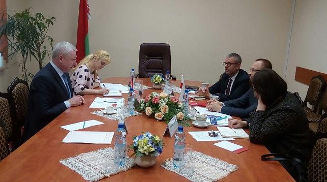 Во время встречи. Фото Департамента по гуманитарной деятельности