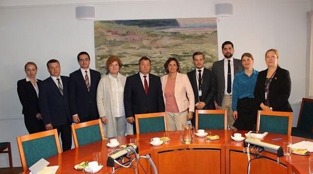 Фото посольства Беларуси в Швеции
