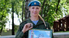Наталья Онищук. Фото Министерства обороны