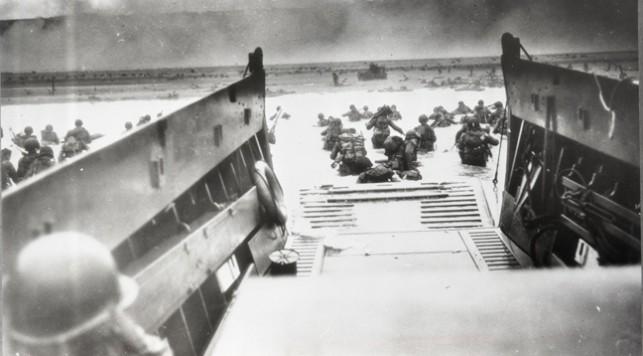 Высадка союзных войск в Нормандии. Франция, июнь 1944 год