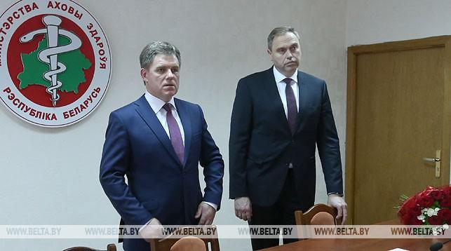Игорь Петришенко и Владимир Караник