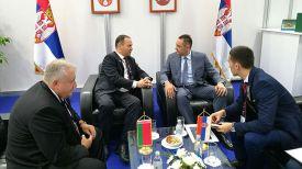 Во время встречи. Фото Госкомвоенпрома