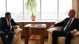 Зейнал Гаджиев и Андрей Дапкюнас. Фото МИД