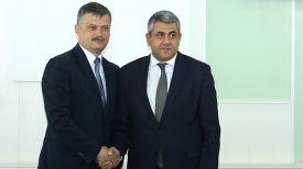 Сергей Ковальчук и Зураба Пололикашвили. Фото Министерства спорта и туризма