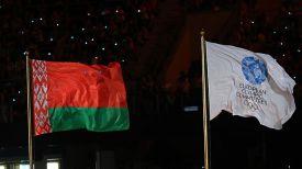 Во время церемонии закрытия II Европейских игр