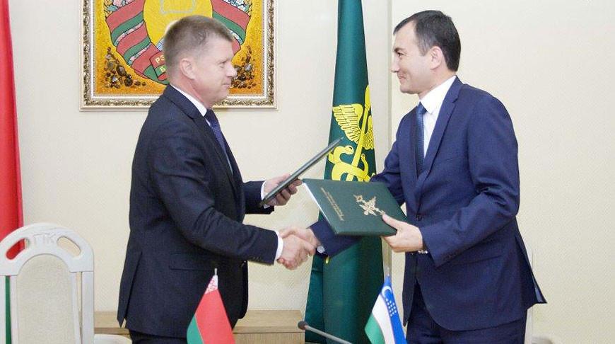 Юрий Сенько и Муротжон Азимов. Фото ГТК
