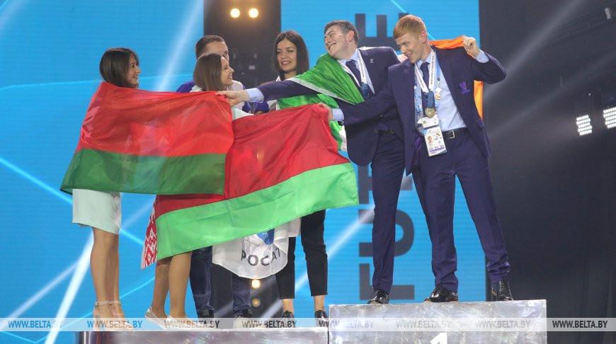 Во время церемонии награждения