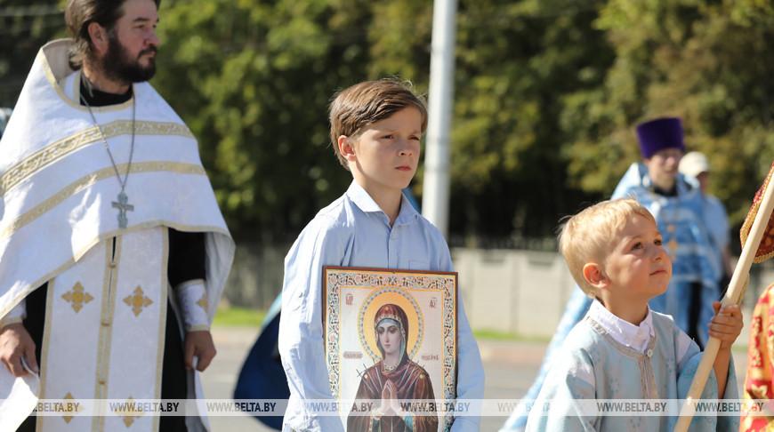 Празднование Успения Пресвятой Богородицы в Витебске