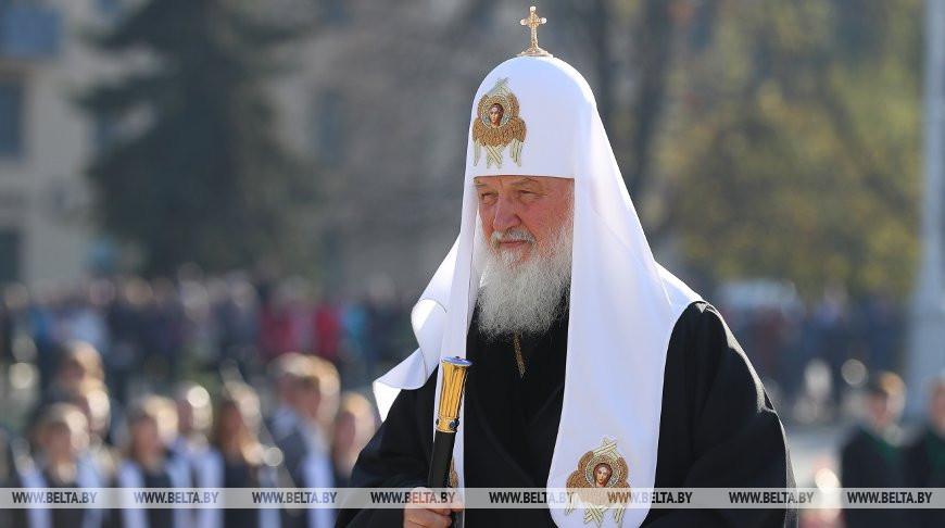 Патриарх Кирилл. Фото из архива
