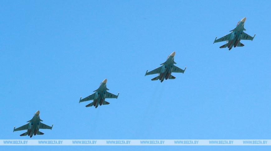 Истребители Су-30СМ. Фото из архива