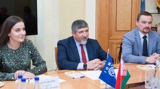 Зейнал Гаджиев (в центре). Фото ГТК