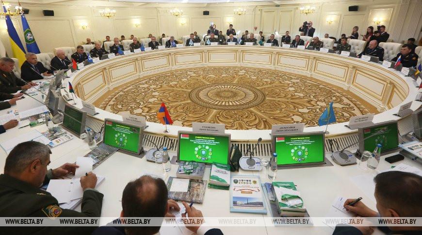 Совет командующих Погранвойсками СНГ подписал 16 решений по итогам заседания в Минске