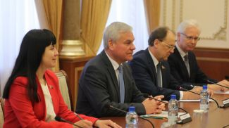 Владимир Андрейченко во время встречи