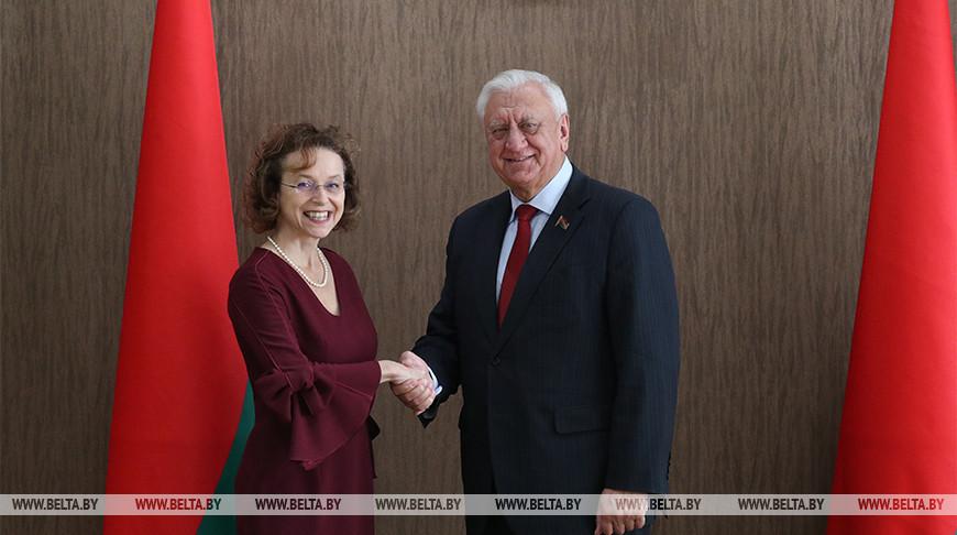 Алоизия Вергеттер и Михаил Мясникович