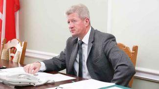 Анатолий Маркевич во время приема граждан