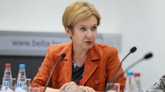Елена Манкевич. Фото из архива