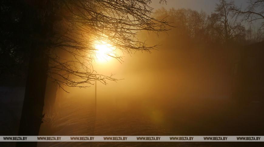 Ночные морозы до — 6°С ожидаются в Беларуси 27 ноября