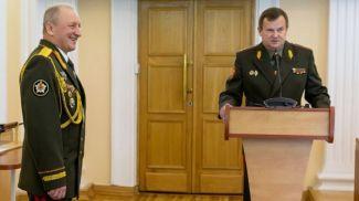Олег Белоконев и Андрей Равков. Фото из Telegram-канала Министерства обороны Беларуси
