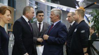 Владимир Макей и Владимир Кислый