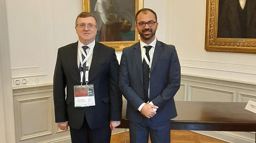 Александр Шумилин и Лоренцо Фьорамонти. Фото ГКНТ