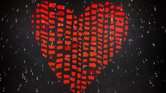 """Сердце – символ благотворительного проекта Белагропромбанка """"Прикосновения"""""""