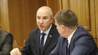 Юрий Караев во время заседания межведомственной экспертной группы по совершенствованию законодательства об административной ответственности