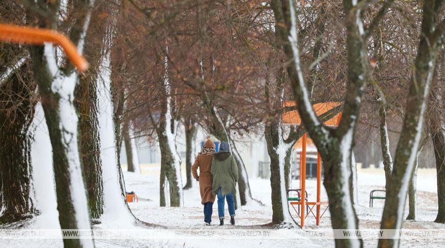 Гололедица и небольшой снег ожидаются в Беларуси 29 декабря