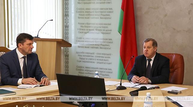 Валентин Милошевский и Анатолий Лис