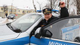 Милиционер-водитель Могилевского областного управления Департамента охраны МВД прапорщик милиции Виталий Прохоров
