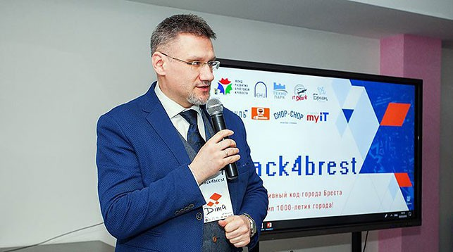 Дмитрий Макарук. Фото Брестского научно-технологического парка