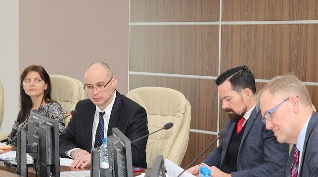 Во время заседания. Фото Минэкономики