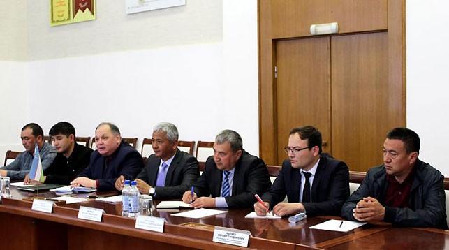 Во время встречи. Фото   MogilevNews