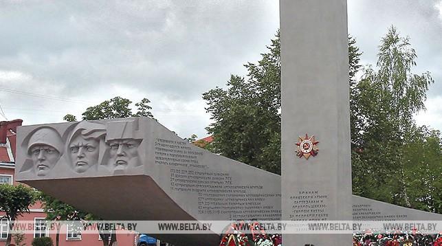 Памятник в Орше. Фото из архива
