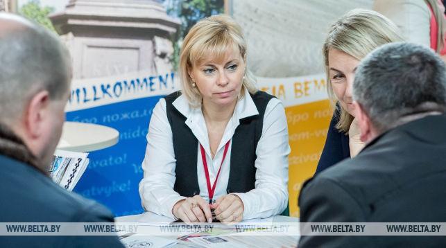 На форуме-выставке деловых контактов. Фото из архива