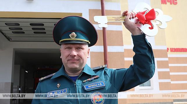 Начальник Оршанского горрайотдела по чрезвычайным ситуациям Александр Ярмош
