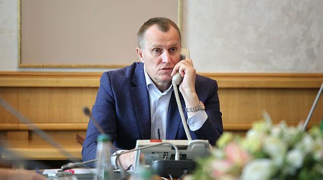 Анатолий Исаченко. Фото Миноблисполкома