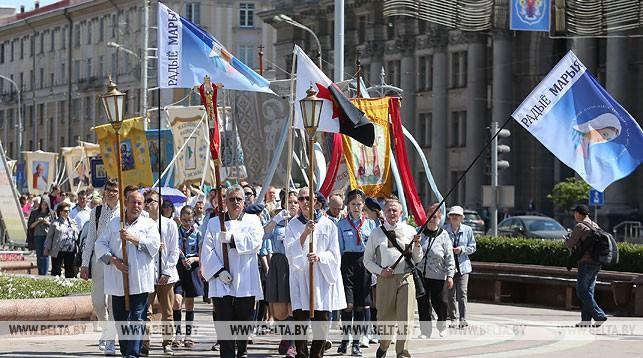 Во время процессии. Фото из архива