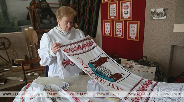 Мастер Валентина Кравчук из Гродно
