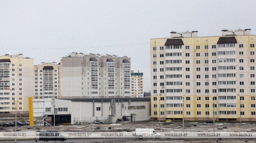 """Жилищное строительство в новом микрорайоне """"Хутор"""""""