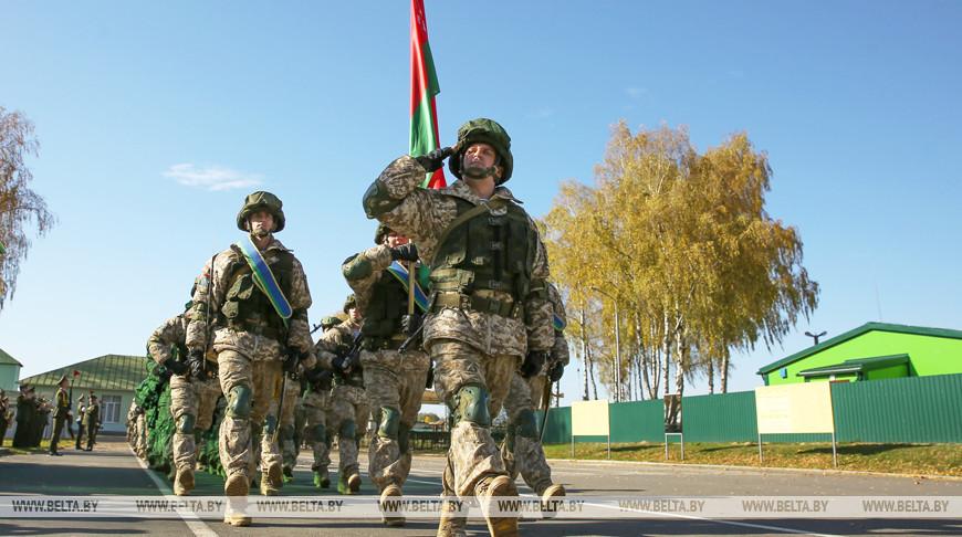 Представители Вооруженных Сил Беларуси
