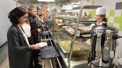 В новом центре питания