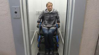Татьяна Лапко в новом лифте
