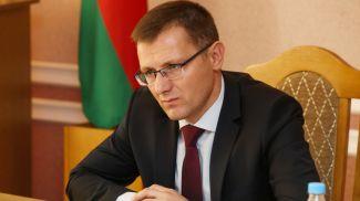 Андрей Кунцевич во время приема