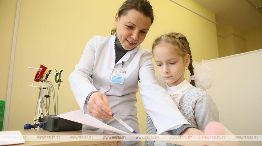 Старшая медсестра Ольга Цимбота в амбулатории