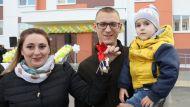 Ключи от арендных квартир вручили новоселам-калийщикам в Петрикове