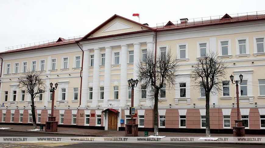 Полоцкий райисполком. Фото из архива