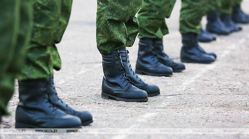 Около 2,6 тыс. новобранцев Брестской области осенью направят на службу в армии