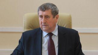 Михаил Русый во время приема граждан