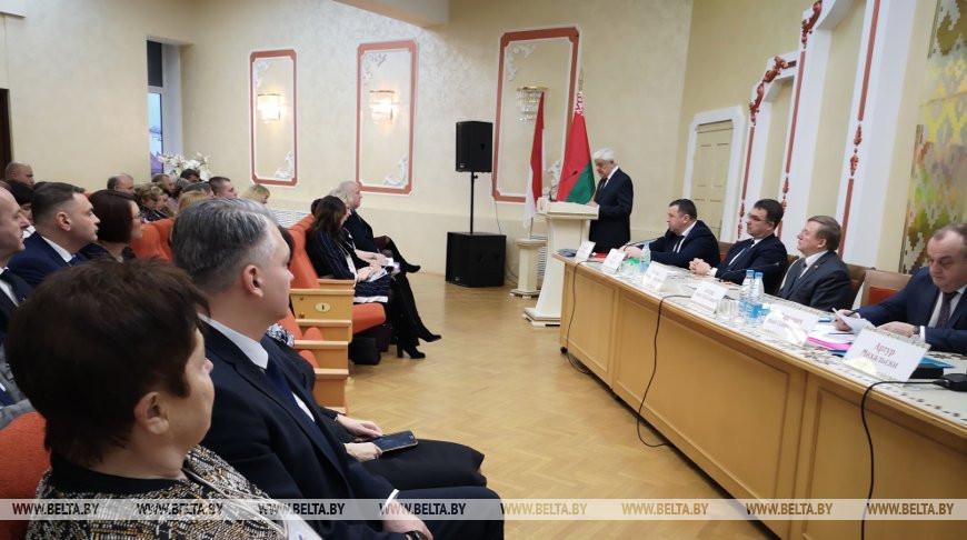 Борис Батура на встрече городов-побратимов Беларуси и Польши